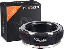K&F Concept Lens Adapter for Konica AR Lens to Micro Four Thirds MFT M43 Camera
