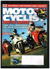 MOTORCYCLIST JULY 2011 SEE CONTENTS PAGE IN SECOND PHOTO
