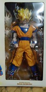 RAH Dragon Ball Z - Super Saiyan Goku Figure by Medicom Toy New & SEALED