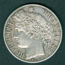 PIECE DE 1 FRANC CERES 1872 k ETAT SUP A VOIR N°373