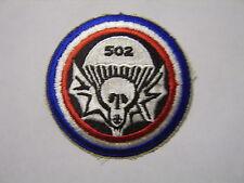 502nd PARACHUTE INFANTRY REGIMENT (AIRBORNE) FULL COLOR CURRENT MANUFACTURED:K7