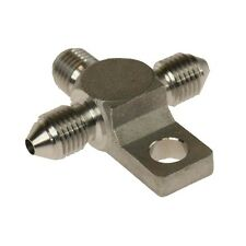 Motamec 3/8 UNF -3 AN Male to Male 3 Way Stainless Steel Brake Fitting Adaptor