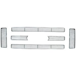 CCI IWC/GI/47 Chrome Imposter Grill Insert ;6 pc;08-10 Ford SuperDuty Lariat XLT