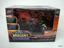 WORLD OF WARCRAFT Miniatures Game Starter Set Upper Deck Blizzard New Nuovo