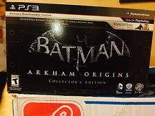 PS3 Batman Arkham Origins Collectors Edition Brand New Sealed.
