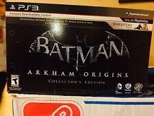 PS3 Batman Arkham Origins Collectors Edition Brand New Sealed.