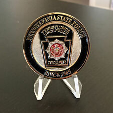 Pennsylvania State Trooper Police Authentic New Challenge Coin