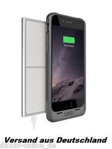 Aero Wireless für iPhone 6/6s Battery Case UNU Hülle Akku SCHWARZ