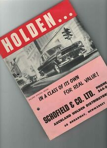 Holden EK brochure 1961/2 New Zealand rare original