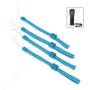 4x BLAU Hand-Schlaufen Strap Arm Band für Handy MP3 Kamera Foto Nintendo