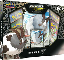 Pokemon TCG Champion's Path Dubwool V Collection Box 4 Booster Packs