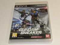 GUNDAM BREAKER Sony Playstation 3 PS3 Video Game Import Region 3 COMPLETE
