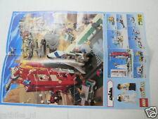 LEGO BROCHURE FLYER CATALOG TOYS 1995 SPACE SHUTTLE DUTCH 2 PAGES 073