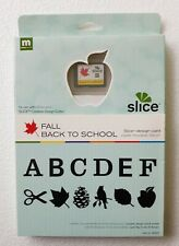 New Making Memories Slice Design Card - Fall Back To School