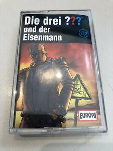✅ DIE DREI FRAGEZEICHEN - ??? - MC - 172 - UND DER EISENMANN