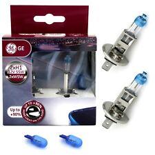 GE H1 12V 55W MegaLight Ultra +90% mehr Licht + W5W Blue Xenon Effekt Lampen