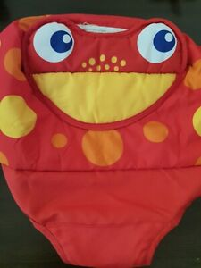 Fisher Price Rainforest Jumperoo Red Frog Seat Cover Replacement Part Free Ship