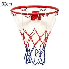 Hanging Basketball Wall Mounted Goal Hoop Rim Net Sports Netting Indoor Kids Toy