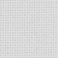 Toile point de croix AIDA 5.5 BLANC tissus broderie à broder au mètre largeur 16