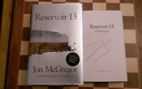 Reservoir 13 SIGNED LIMITED EDITION Jon McGregor 1st/1st  Booker Prize 2017 HB