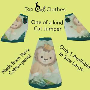 Large one of a kind - Sphynx cat top, Devon Rex, Peterbald, Pet Cat Clothes