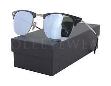 NEW Ray Ban RB 8056 176 30 51mm Black / Green Mirror Sunglasses