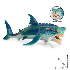 Horrid Fish Shark Ocean Animal Realistic Whale Decoration Collector Kids Toys