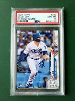 2020 Topps Gavin Lux Rookie #292 Wearing Helmet PSA 10 RC Dodgers GEM MINT
