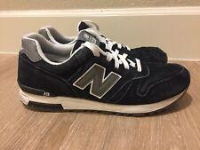 New Balance Men's ML565 Classic Fashion Sneaker Black Sz 9.5