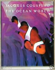 JACQUES COUSTEAU ~ OCEAN WORLD ~ XL HARDCOVER ~ PROFUSELY ILLUSTRATED HARDCOVER
