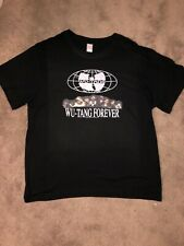 Wu Tang Clan Forever Original Black Vintage Shirt Size XL