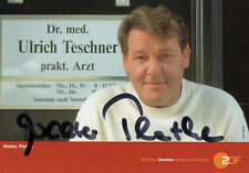 Autogramm - Walter Plathe (Der Landarzt)