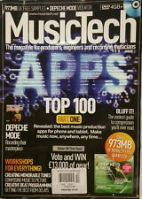 Music Tech UK Free DVD Top 100 Part 1 Issue 141 December 2014 FREE SHIPPING