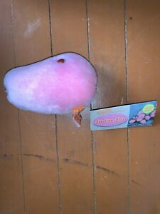 """NWT Giant Microbes Pink Swine Flu Stuffed Plush Toy 6"""" Fun!"""