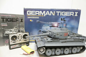 Henglong German TIGER I 1/16 3818 Radio Remote Control Battle Tank BOXED - 250