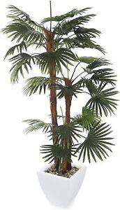 Closer2Nature Artificial 6ft Finger Palm Tree - Portofino Planter Not Included