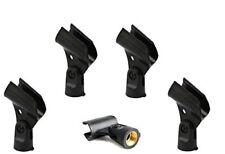 SHURE5 PCS Microphone mic Clip Holder Fits Shure SM58,SM57,Beta58/Beta58A
