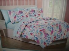 Ocean Dreamer 5-pc TWIN Comforter & Sheet Set MERMAID  fish ocean life