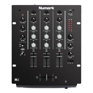 NUMARK M4 BLACK MIXER 3 CANALI PER DJ NUOVO