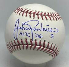 """Johan Santana """" 2006 AL Triple Crown """" Signed Baseball JSA COA AUTO Mets Twins"""