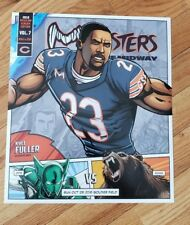 Chicago Bears vs New York Jets 10/28/18 Kyle Fuller 2 Sided Roster Card
