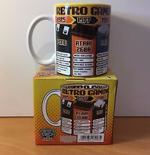 Retro Gaming Mug New and Boxed - ATARI NES PONG GAME BOY MEGA DRIVE SUPER NES