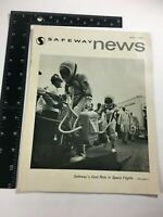 Vintage Safeway News Magazine May 1966 Dual Role in Space Flights Collectible s3