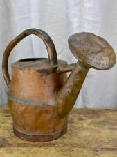 Rustic antique French copper watering can - 18th Century
