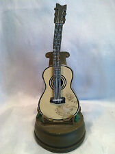Preowned Vintage Guitar Music Box By San Francisco Music Box Company Made In Usa