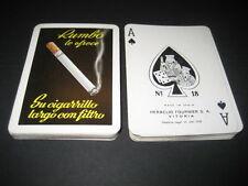 Baraja Poker Fournier 1958. Tabaco Cigarrillos RUMBO. Playing cards.