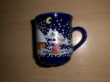 Tasse, Kaffeetasse, Kaffebecher, Glühwein-Tasse blau