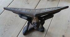 Wooden African birdman/winged man sculpture