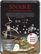 3 Pcs Moisture Essence Face Mask Sheet Korea Beauty Facial Skin Care 16 Types Snake