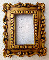 Indian Hand Made Carved Photo Frame Wooden Picture Frame Old Collectible Art
